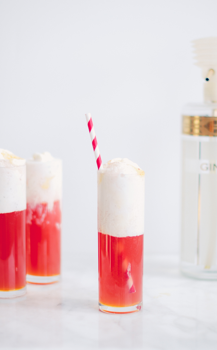 negroni float // craft & cocktails