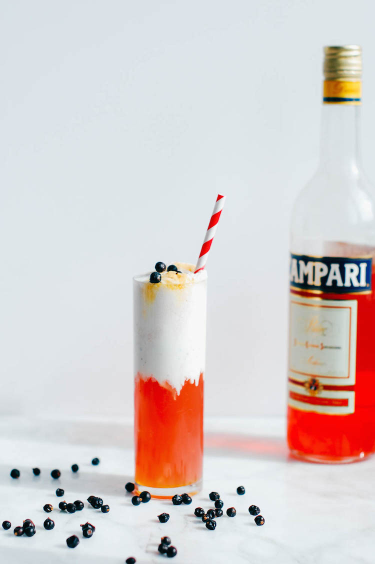 the negroni float // craft & cocktails