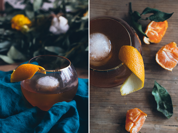 Apple Cider Old Fashioned // Craftandcocktails.co