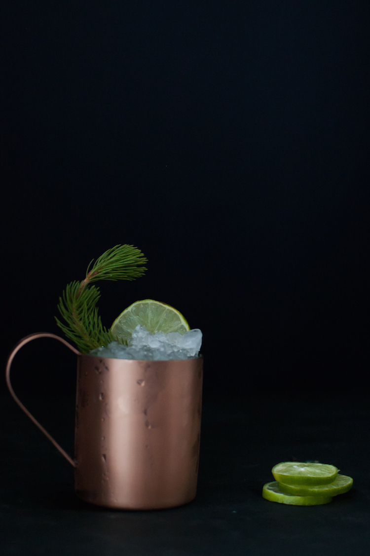 Alpine Buck cocktail // Craftandcocktails.co
