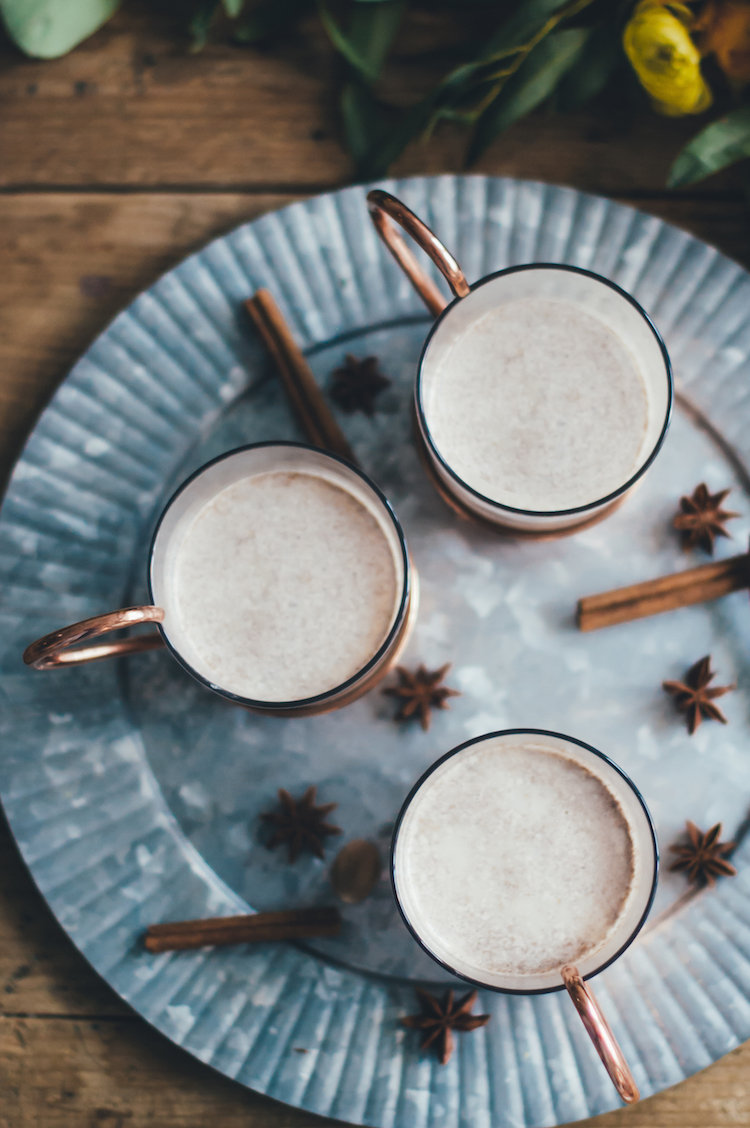 Hot Butter Rum with Batter // Craftandcocktails.co