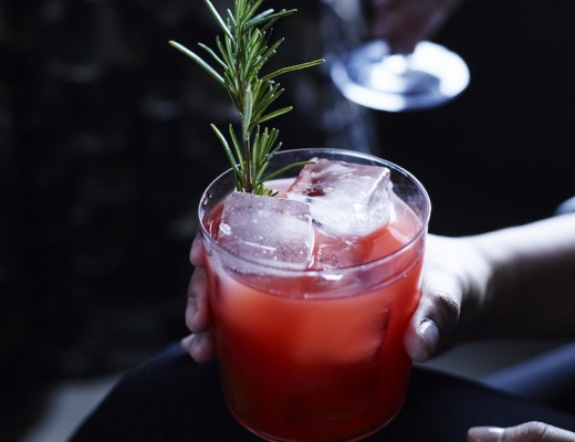 Pomegranate In A Pear Tree // Craftandcocktails.co for Williams Sonoma