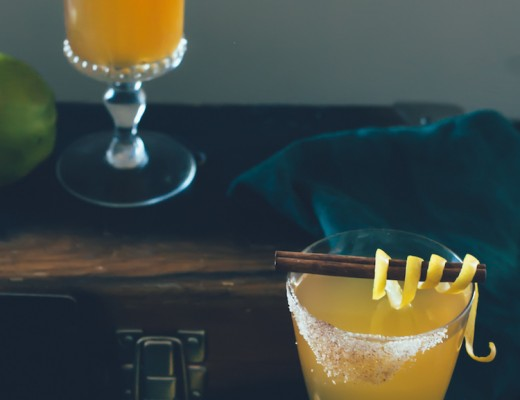 Quince Hot Toddy // Craftandcocktails.co