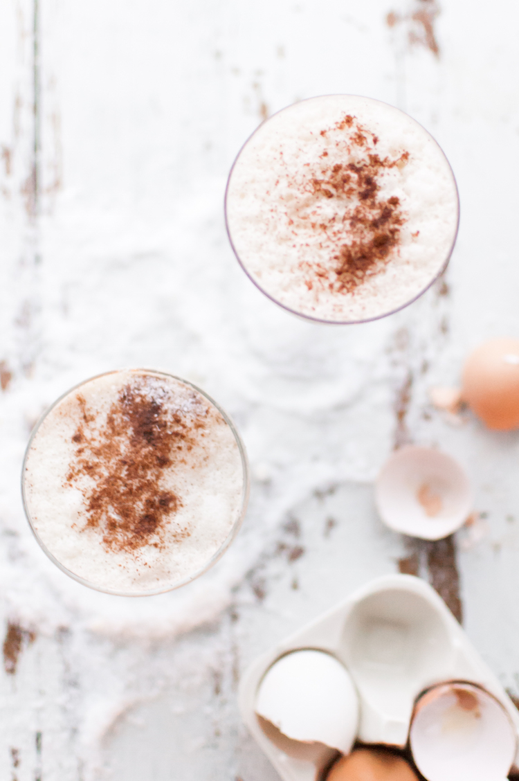 The Best Boozy Eggnog // Craftandcocktails.co
