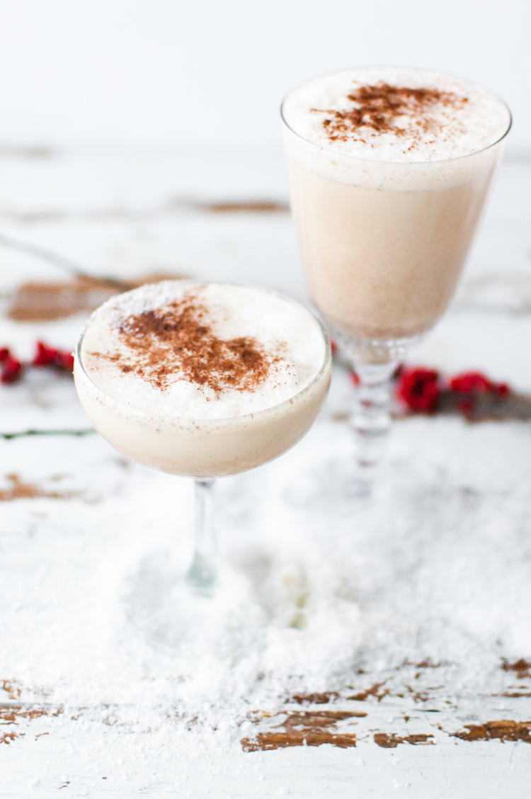 The Best Boozy Eggnog th // Craftandcocktails.co