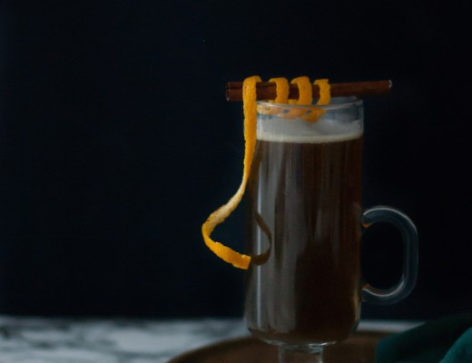 Hot Brown Buttered Rum // craftandcocktails.co