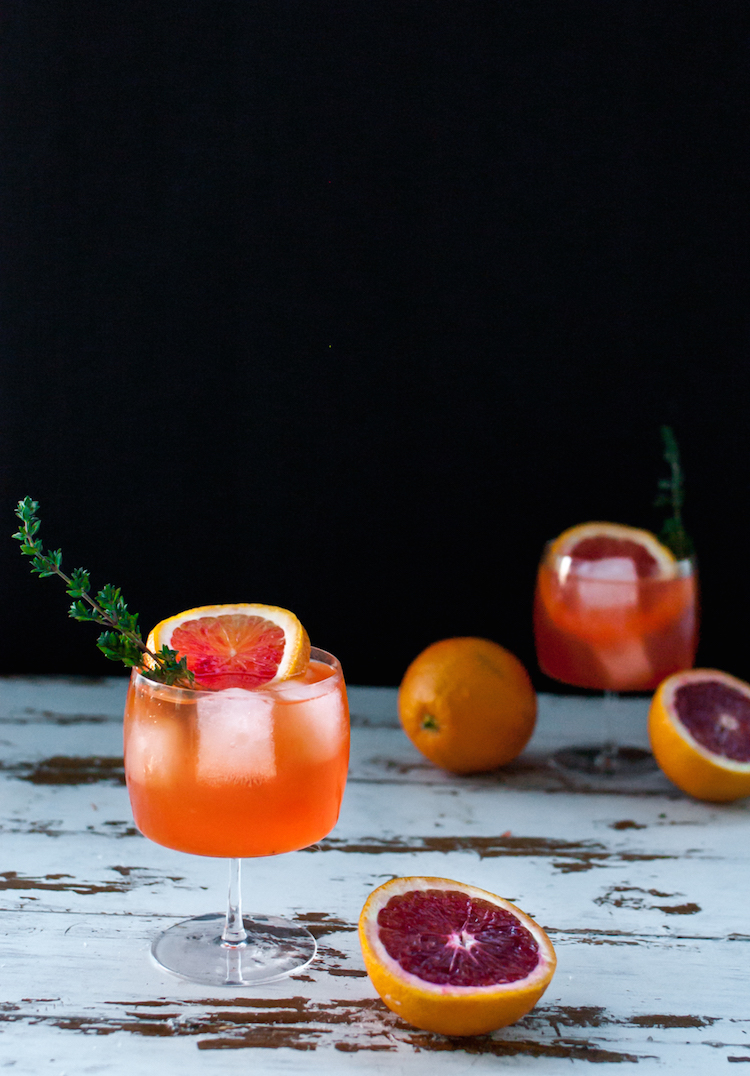The Winter Sun cocktail // Craftandcocktails.co