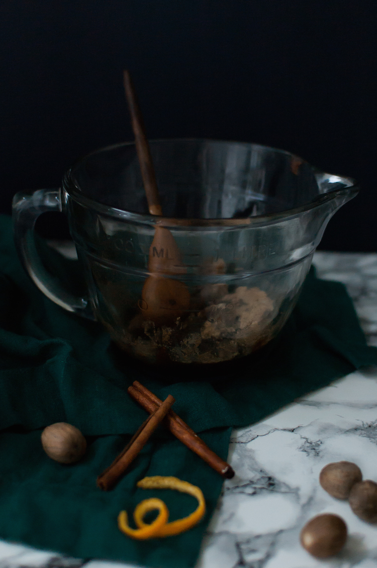 brown butter hot buttered rum batter