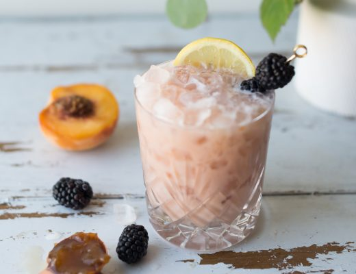 Breakfast Bramble cocktail recipe