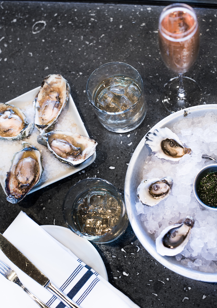 Oysters and Kikori whiskey at Hog Island Oyster Co. San Francisco // Craftandcocktails