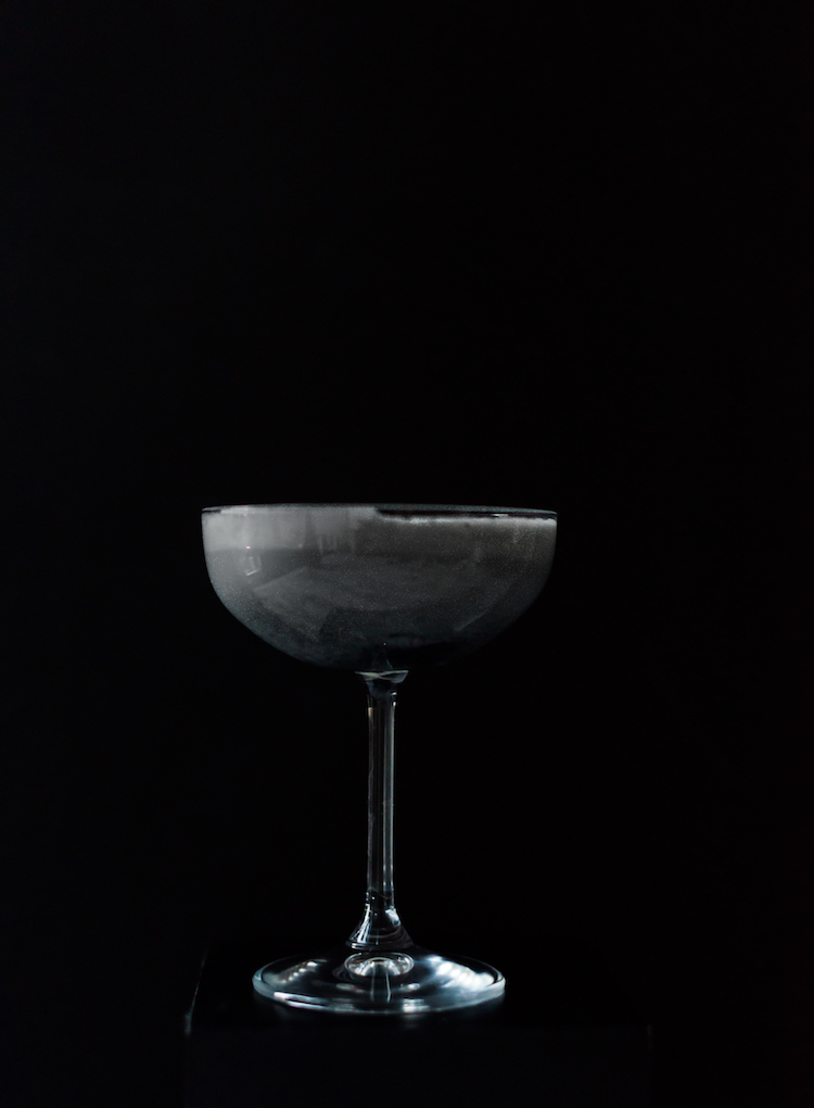 Salty Grasshopper // recipe on craftandcocktails.co