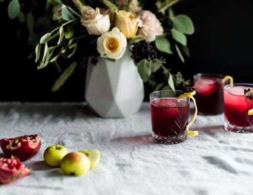 Bitter Sweet Thanksgiving cocktail // craftandcocktails.co