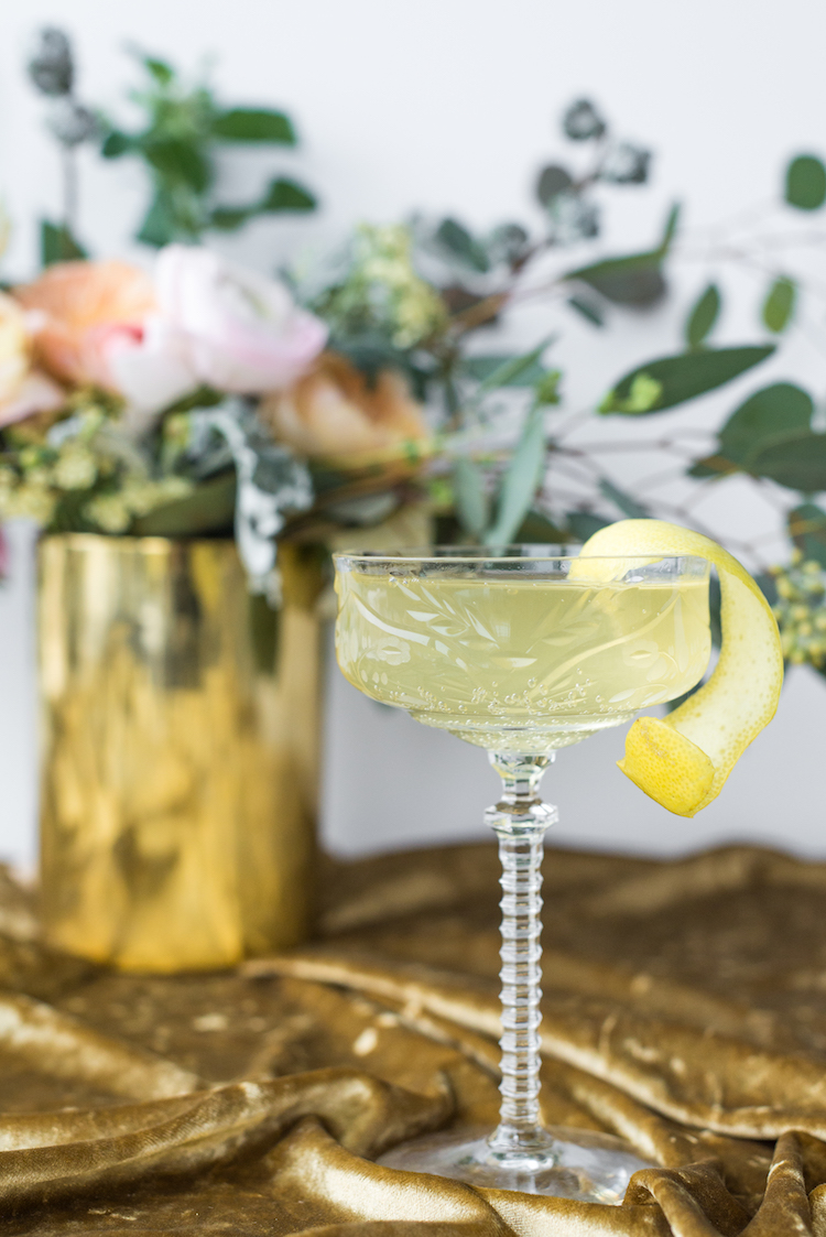 Lillet & Bubbly cocktails | craftandcocktails.co