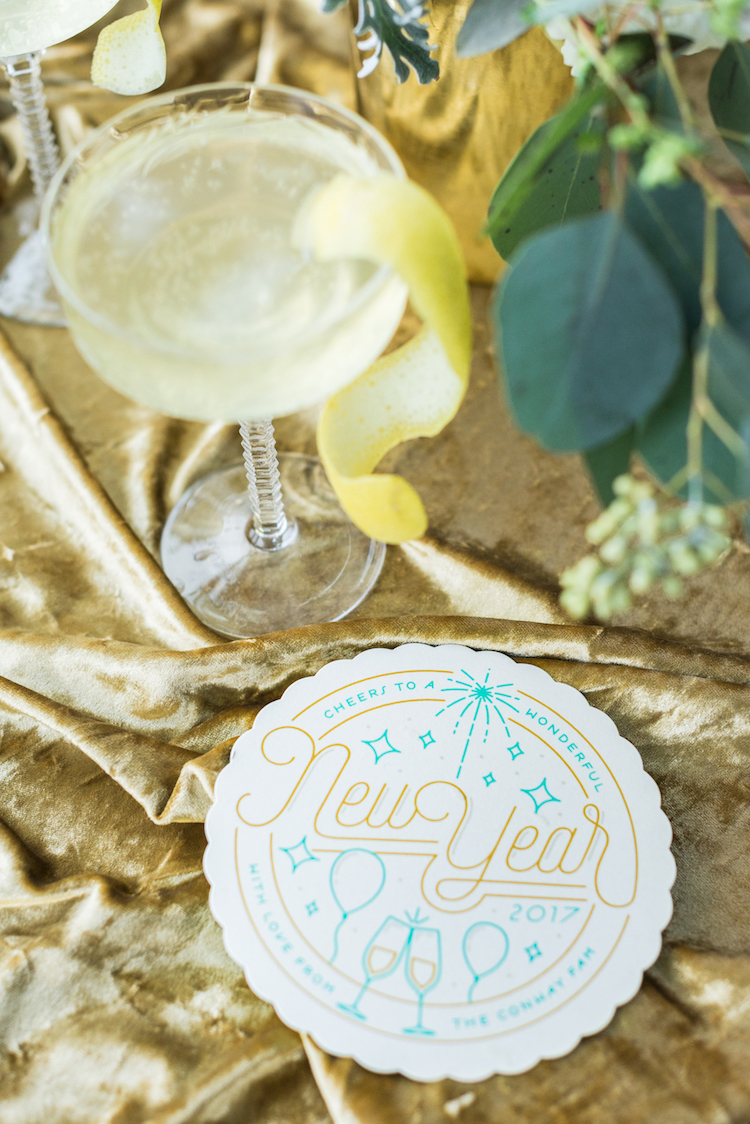 Cards and Cocktails for New Years | Craftandcocktails.co