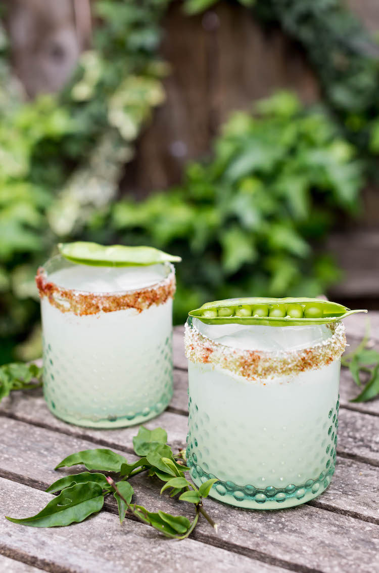 English Garden Margarita | recipe on Craftandcocktails.co