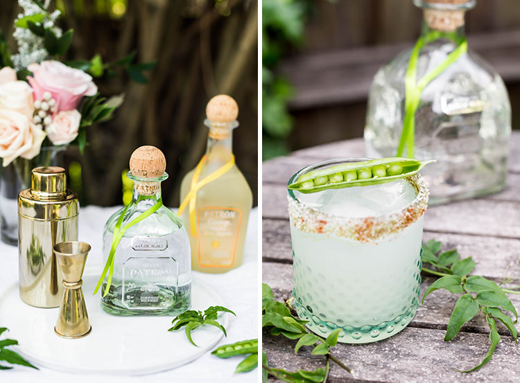 English Garden Margarita of The Year with Patrón | recipe on Craftandcocktails.co