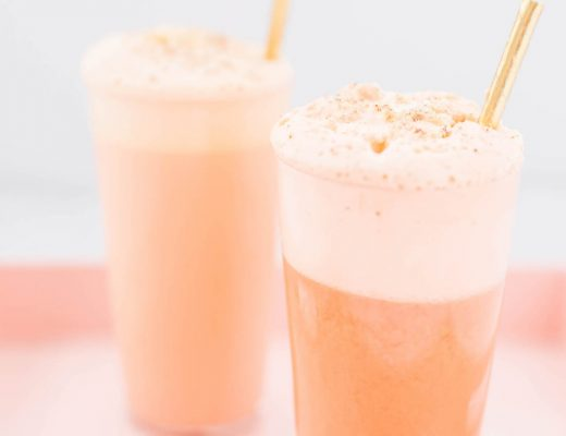 Carrot Cake Ramos Gin Fizz | craftandcocktails.co
