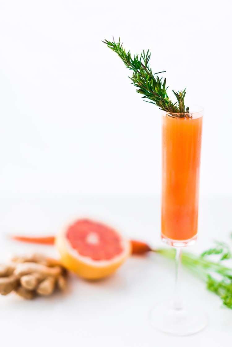 Carrot Ginger Grapfruit Mimosa 13