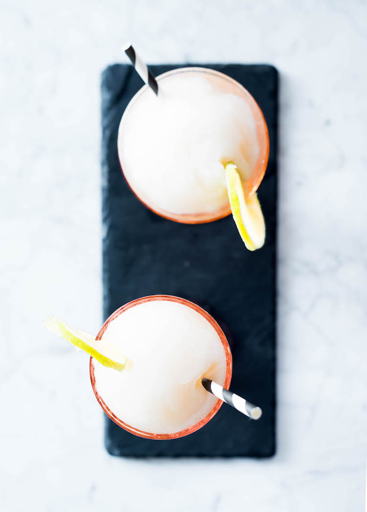 Frozen 20th Century Cocktail with rum | recipe on Craft + Cocktails (craftandcocktails.co)
