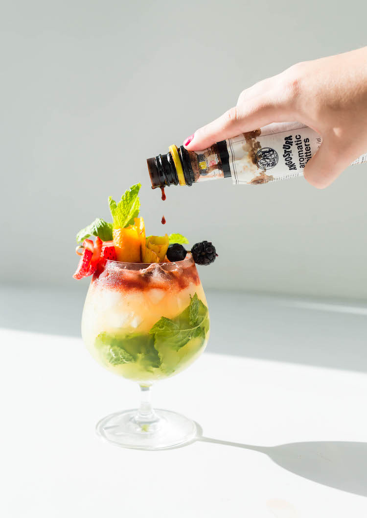 Love Wins Rainbow Swizzle cocktail recipe | Craft & Cocktails (craftandcocktails.co)