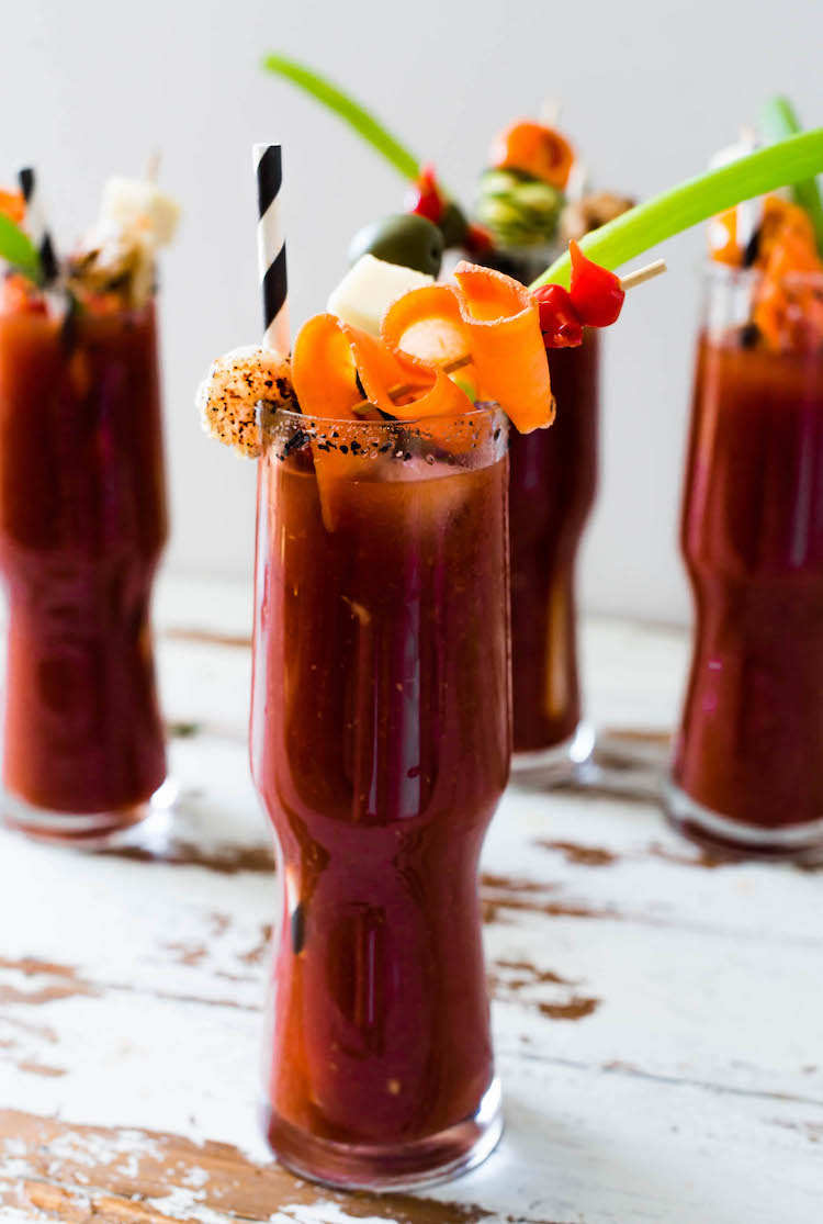 The Best Bloody Mary with Chipotle Vodka - Craft and Cocktails