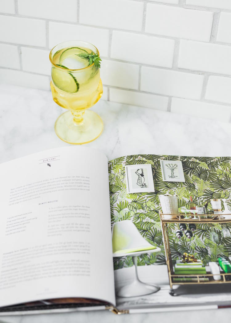 The Art of The Bar Cart book by Ashley Rose Conway | Craftandcocktails.co