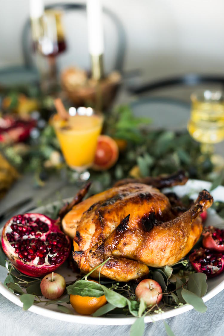 Five Spice Rum Glaze Turkey | Craftandcocktails.co