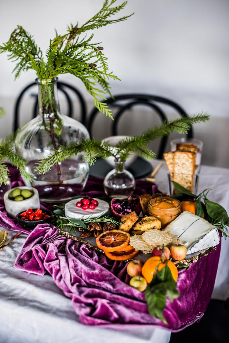 Winter Cheese Plate | Craftandcocktails.co