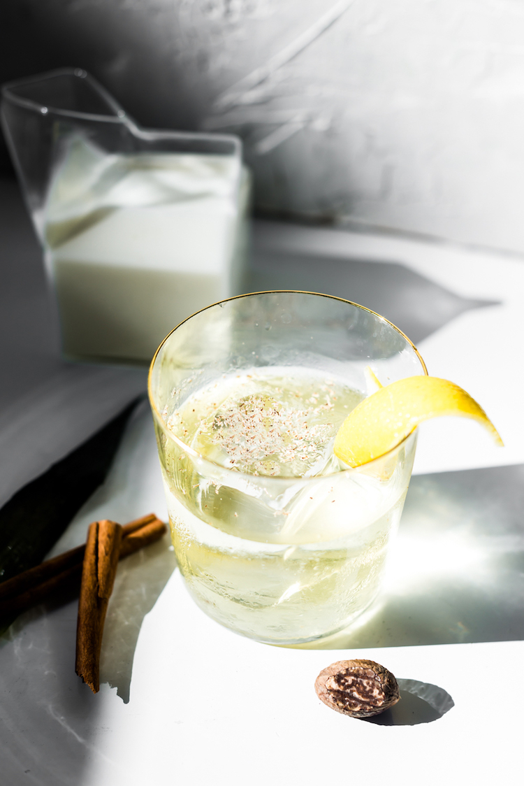 Pineapple Clarified Milk Punch- How to Clarify Cocktails