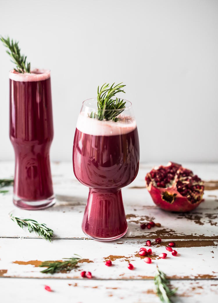 Pomegranate Rosemary Shandy | Craft & Cocktails (craftandcocktails.co)