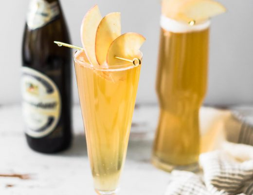 Fall Shandy: Apple Ginger Shandy | Craft & Cocktails (Craftandocktails.co)