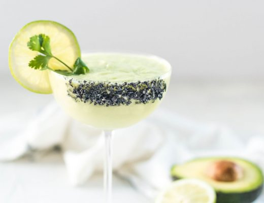 Avocado Cilantro Margarita | recipe on craftandcocktails.co