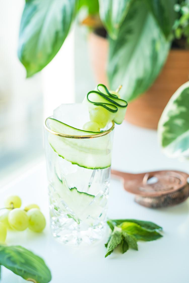 Summer Days Drifting Away- A Grape Cocktail