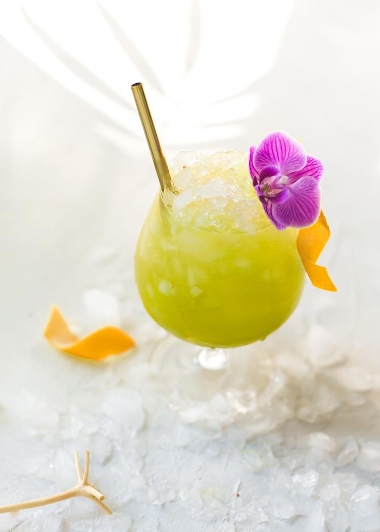 Matcha Swizzle Recipe | Craft & Cocktails