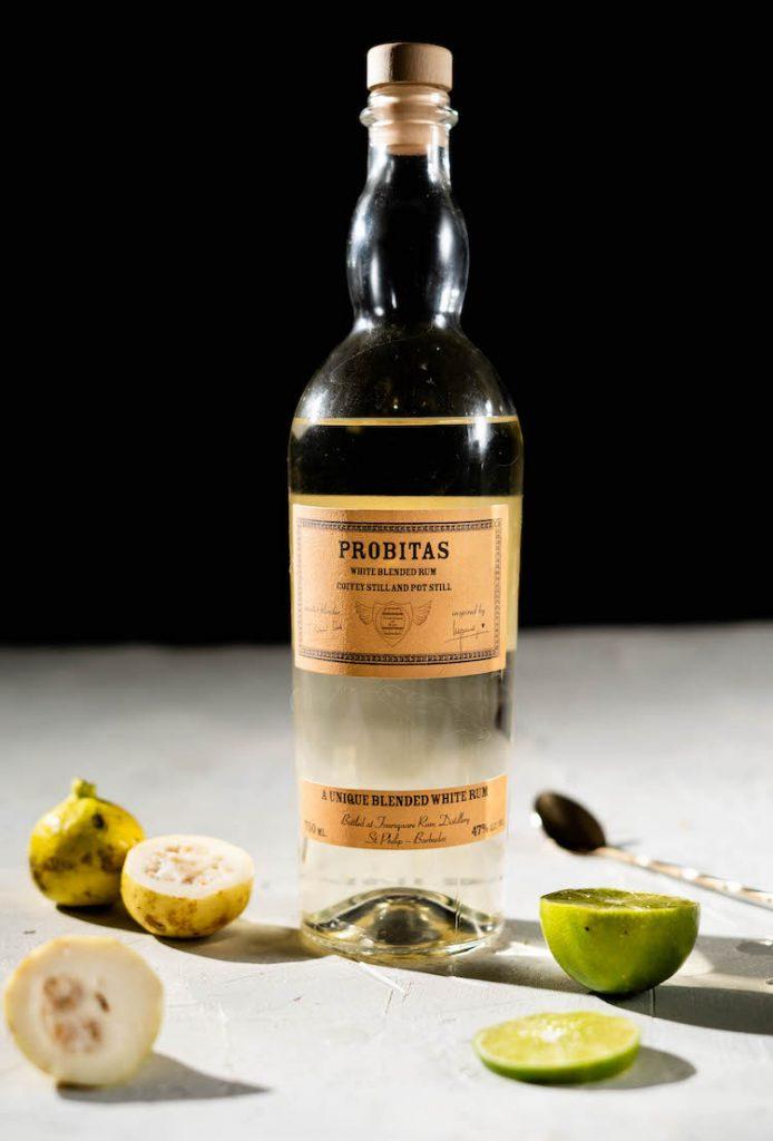 Probitas Rum in a guava coconut daiquiri