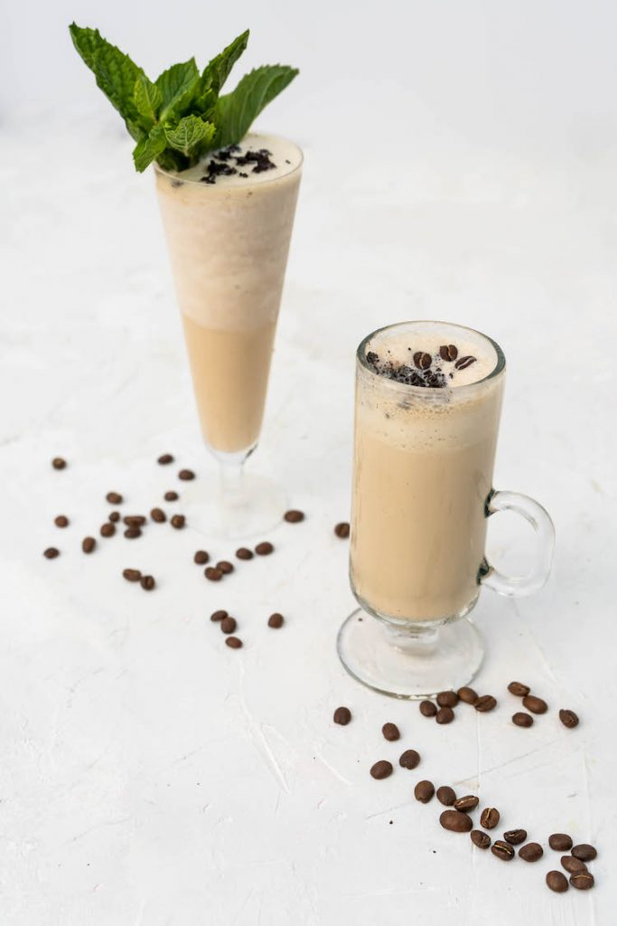 Frozen Irish Coffee recipe inspired by the Erin Rose bar in New Orleans.