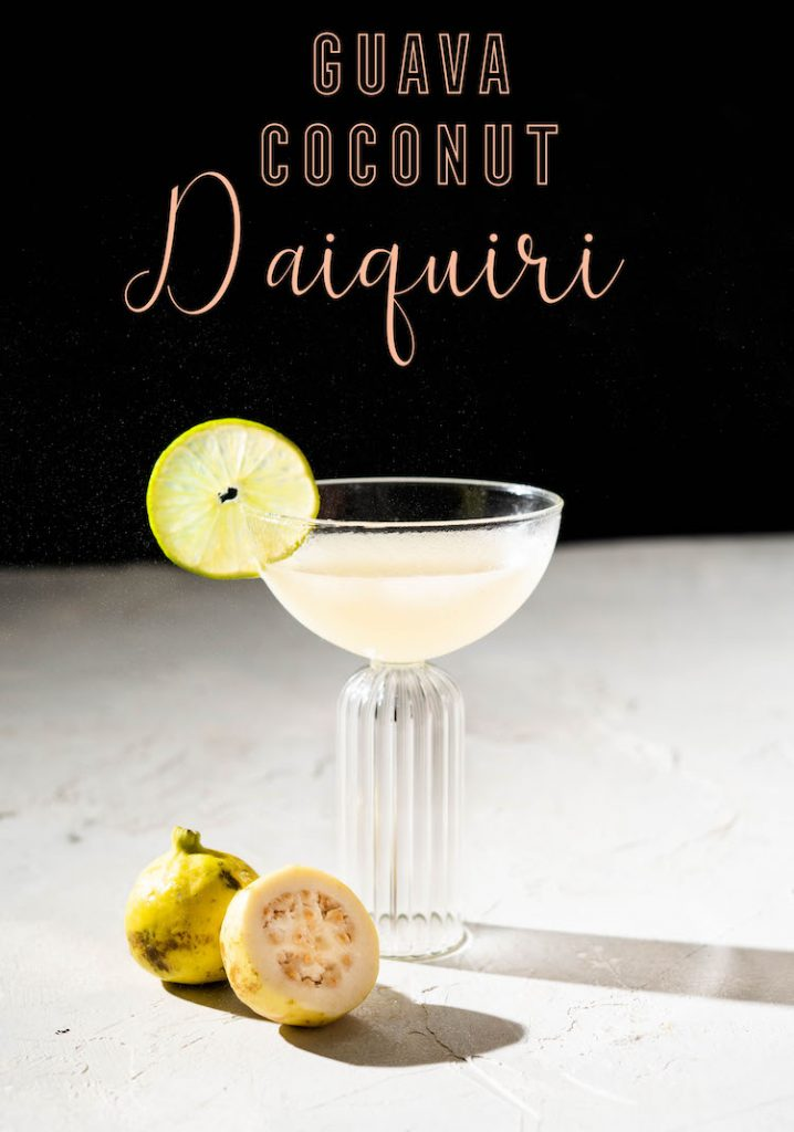 Guava Coconut Daiquiri