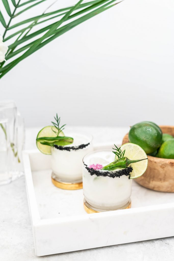 Coconut Jalapeño Margarita
