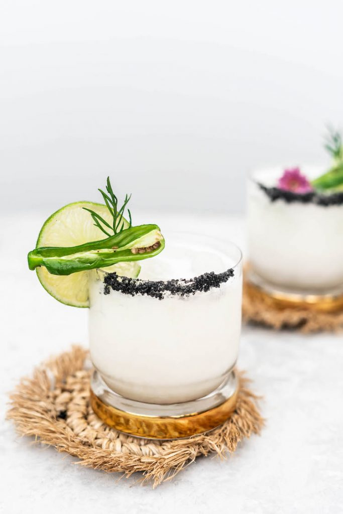 Coconut Jalapeño Cooler mocktail