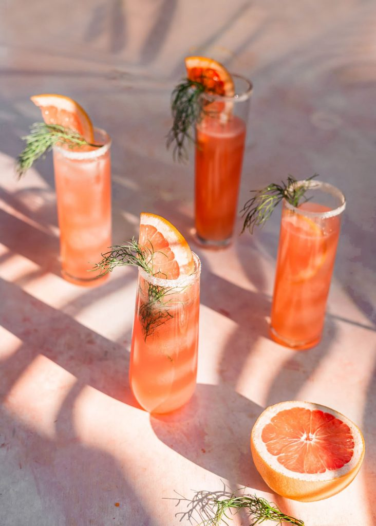 Strawberry Fennel Paloma recipe
